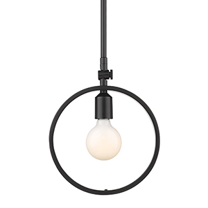 Sloane Black One-Light Mini Pendant